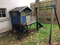 Outdoor children's playhouse. Buyer dismantles and collects.
