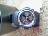 BRAND NEW MENS CASIO G-SHOCK WATCH IN BOX WITH TAGS STILL ON IT.£50.00 ONO