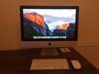 Apple iMac 21.5 inch Screen, 2.5GHz Intel Core i5, Memory 4GB, Wireless Keyboard & Mouse