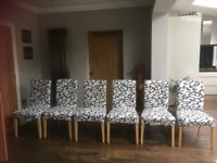 6 Ikea Henriksdal Chairs