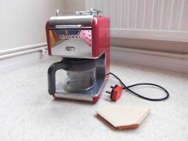 Kenwood kMix Coffee Machine, 6 Cups, Red