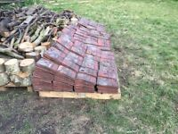 Reclaimed Rosemary Red Roof Tiles. Over 1700 available