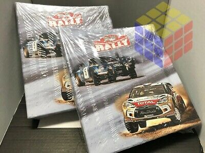 ☆ • Lote 2 Carpetas Clasificadoras para Fascículos Mundial Rally Escala 1:18...