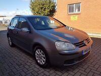 2005 VW GOLF 1.9TDI,MOT JAN 2017TH,07549508197