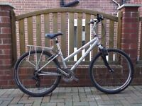Ladies aluminium bike with accessories , excellent working was £350