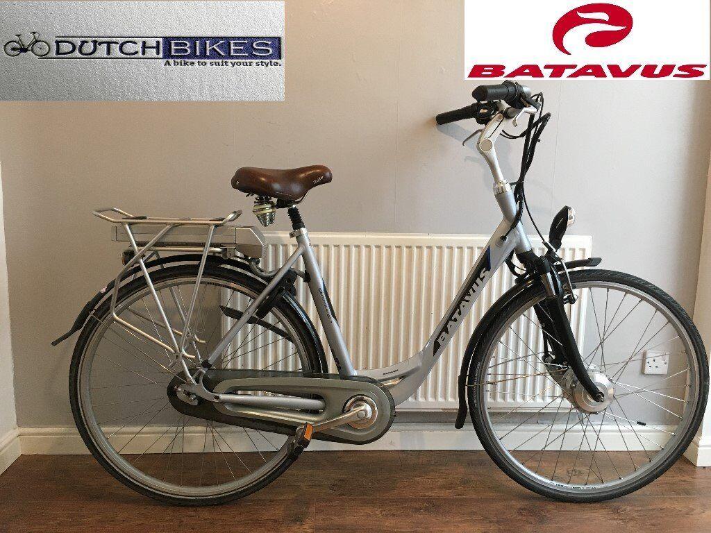 Welp dutch bike batavus genoa e-go7 electric bike nexus gears hybrid city YO-11