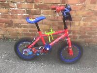 """Spider-Man Kids Bike - 14"""""""