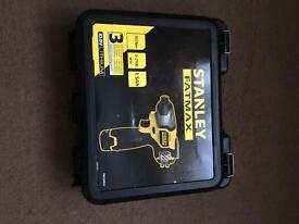 Stanley fatmax 10.8v impact driver. New item. Never used.