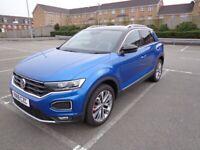 Volkswagen, T-ROC, Hatchback, 2018, Manual, 1498 (cc), 5 doors