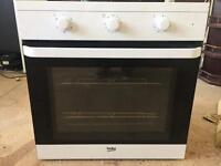 Beko built in oven & hob
