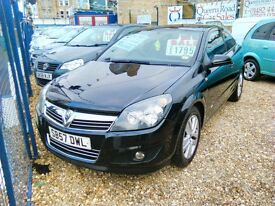 2007 on a 57 plate Vauxhall astra SXI 3 door 1400 cc petrol low insurance