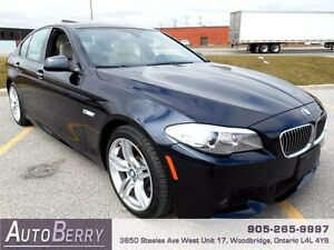 2013 BMW 5 Series 535i xDrive M Sport Pkg *** Cert & E-Test ***