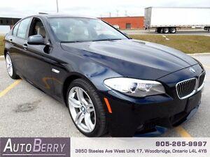 2013 BMW 5 Series 535i xDrive M Sport Pkg *** Cert & E-Test ***