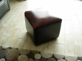 FREE Cream natural leather 3 seater sofa Marks and Spencer