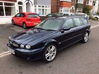 Jaguar X-Type Sport Premium 2 litre diesel estate car