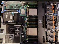 Dell R620 2x E5-2651 V2, 32 GB, 5x900GB
