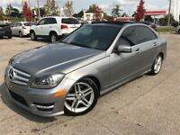 2012 Mercedes-Benz C-Class C300 4MATIC /  AMG SPORTS PKG / PANO  Cambridge Kitchener Area Preview