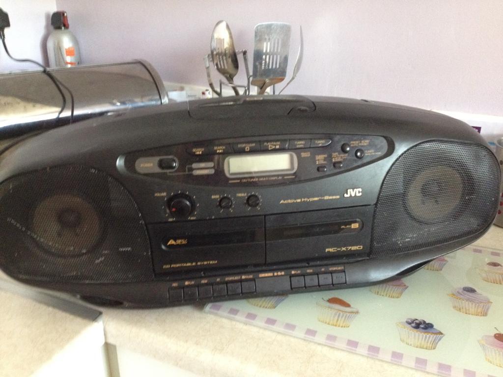 Jvc Cd Radio Player In Costessey Norfolk Gumtree