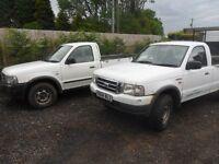 FORD RANGER 4X4 04 REG NO TEST SPARES OR REPAIR RUNS GREAT BIRTLEY CAR SALES DH3 1PR