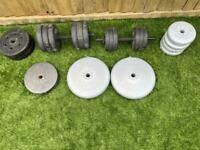 York Weights and dumbbells