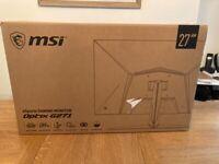 "MSI Optix 27"" Gaming pc monitor"
