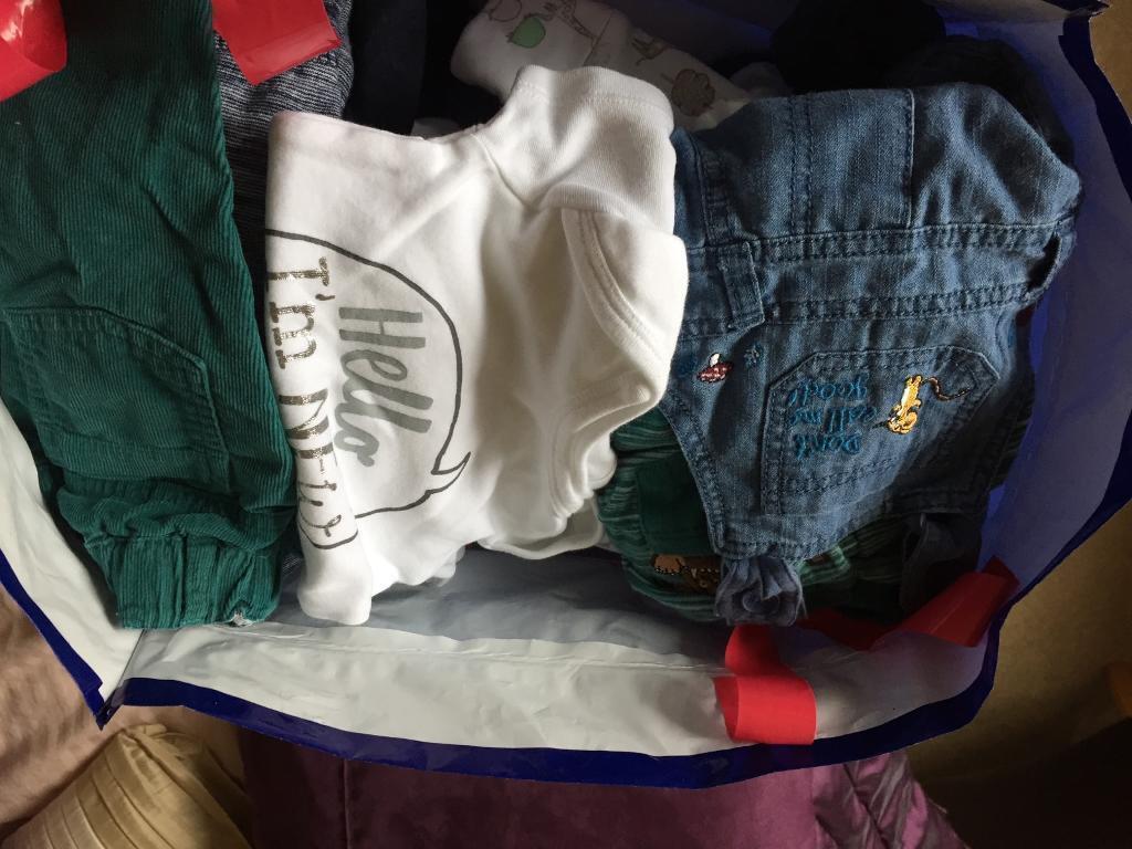 0>3 mth boys clothes