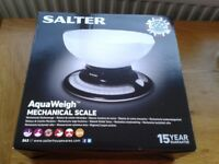 Salter AquaWeigh Kitchen Scales BNIB
