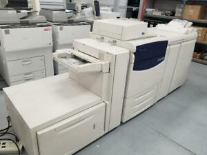POWERFUL XEROX 700/700i PRODUCTION PRINTER WITH BOOKLET MAKER FINISHER WITH SPEED UP TO 70PPM AND 80 IPM. 1200X1200 DPI