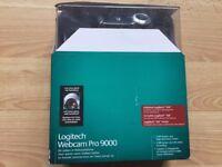 Unused Logitech Webcam Pro 9000