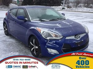 2012 Hyundai Veloster TECH PACKAGE | NAV | LEATHER | ROOF | BACK
