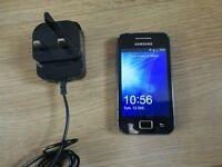 SAMSUNG GALAXY ACE **UNLOCKED ANY SIM** Android smartphone