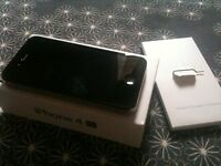 apple iphone 4s black o2 02 giff gaff tesco or i can unlock open