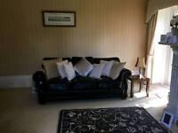 Leather sofa x3