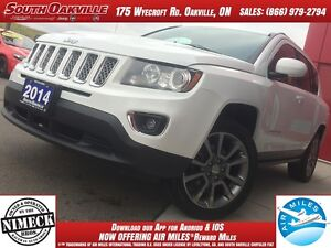 2014 Jeep Compass Limited | BLUETOOTH | HEATED LEATHER | NAVIGAT