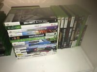 X box 360 32gb with 2 controllers and Kinect