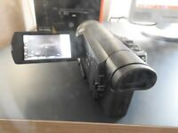 *Final Reduction* Sony Handycam FDR-AX100E 20.9 MP Camcorder - 4K - Black