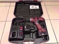 Cordless Hammer Drill with Mains Charger with Case