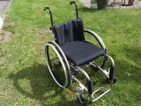 """Lightweight Rigid 14x15"""" Wheelchair"""