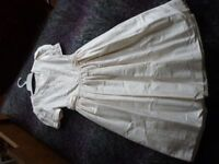 Girl's First Communion Dress / Bridesmaid Dress (Age 8)