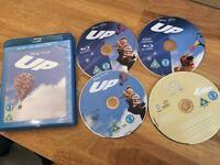 DISNEY'S UP (BLU-RAY + DVD+ DIGITAL COPY 4 DISC) Pixar