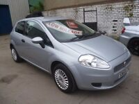 Fiat GRANDE PUNTO Active,3 door hatchback,full MOT,nice clean tidy car,runs and drives very well,52k
