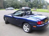 MAZDA MX-5 CONVERTIBLE 2004 MODEL LONG MOT LOW MILES FOR AGE