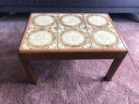 Vintage 70s Tile Coffee Table