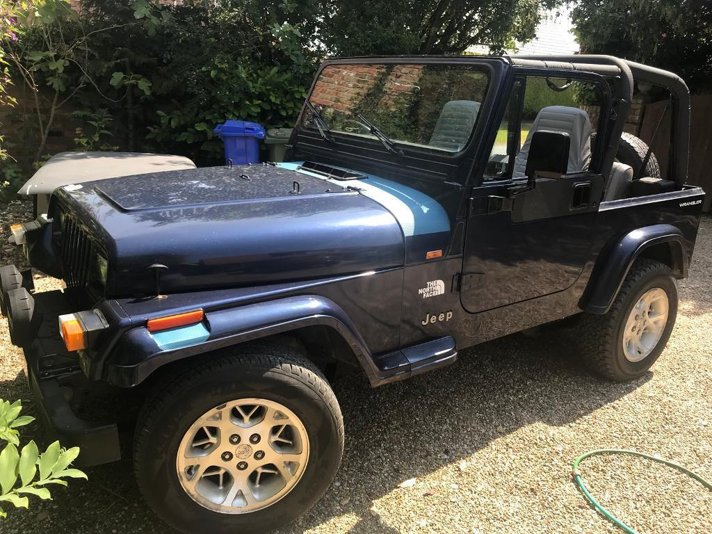 Jeep Wrangler 4 0 1994 North Face Edition Hard Top  Soft