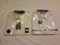 2x New Shirts - 17 Inch Collar ONLY £10