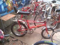 ORIGINAL 1974 RALEIGH CHOPPER ONE OF MANY QUALITY BICYCLES FOR SALE