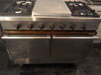 Price reduced to sell £215,;Ambassade range, dual-fuel range cooker, top of the range....Bargin....