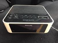 FREE Philips alarm clock and radio, fully working