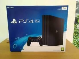 PS4 Pro 1 tb plus games