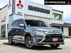2017 Mitsubishi Outlander GT - SUNROOF|360CAM|LEATHER|CLEAN CARFAX|
